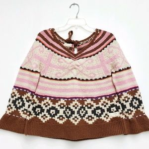 Odd Molly Size 2 Pullover Chunky Knit Sweater